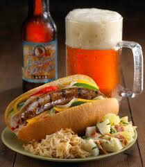 Beer and brat