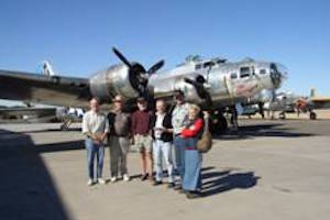 Commemorative Air Force visit
